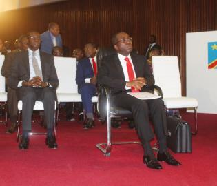Le PM Matata mercredi 28 nov. peu avant de prendre la parole devant les Députés. PLACIDE MATOBO.