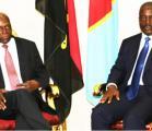 les présidents congolais Joseph Kabila Kabange et angolais José Edouardo Dos Santos