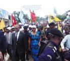 Masimanimba s'est jeté dans la rue dès l'annonce de la prise de Goma par les rebelles du M23. LE SOFT.